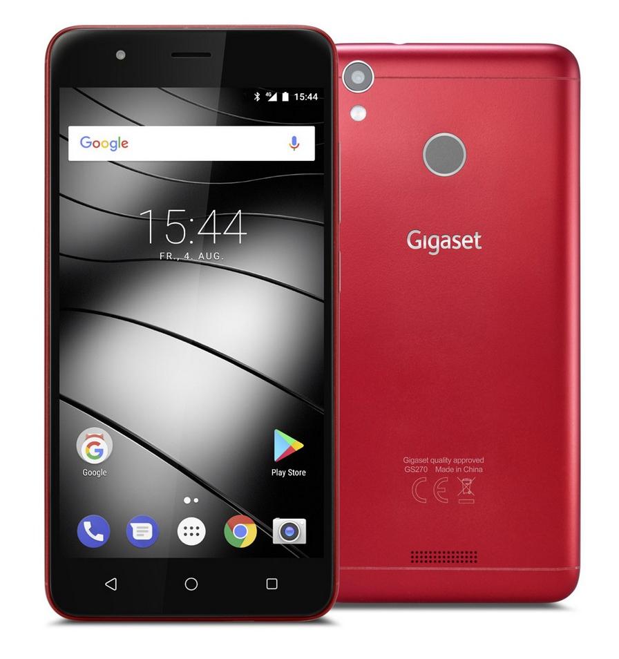 Mobilní telefon Gigaset GS270 Red