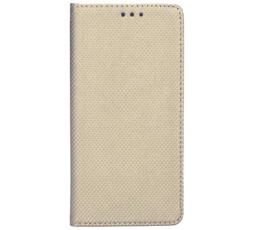 Smart Magnet flipové pouzdro Samsung Galaxy A8 2018 gold