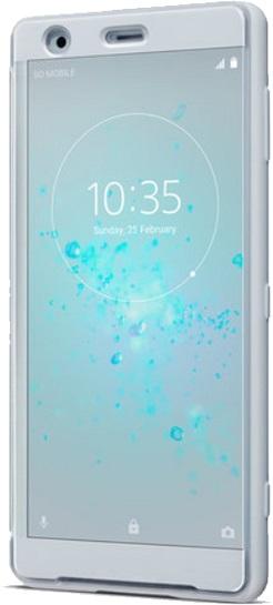 Sony Style Cover Touch SCTH40 pouzdro flip Sony Xperia XZ2 grey