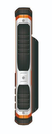 Outdoor mobilní telefon Aligator R30 eXtremo Black / Orange