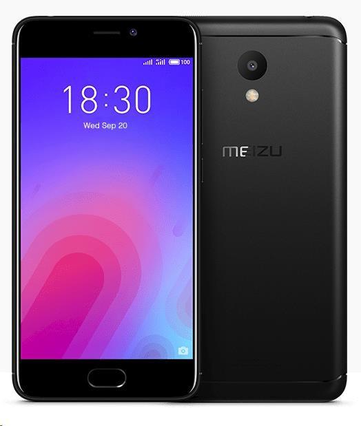 Mobilní telefon Meizu M6 Black