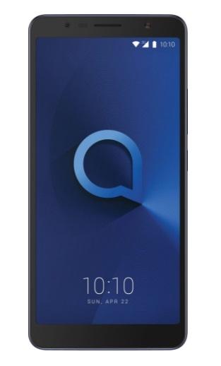 Mobilní telefon Alcatel 3C 5026D Metallic Blue