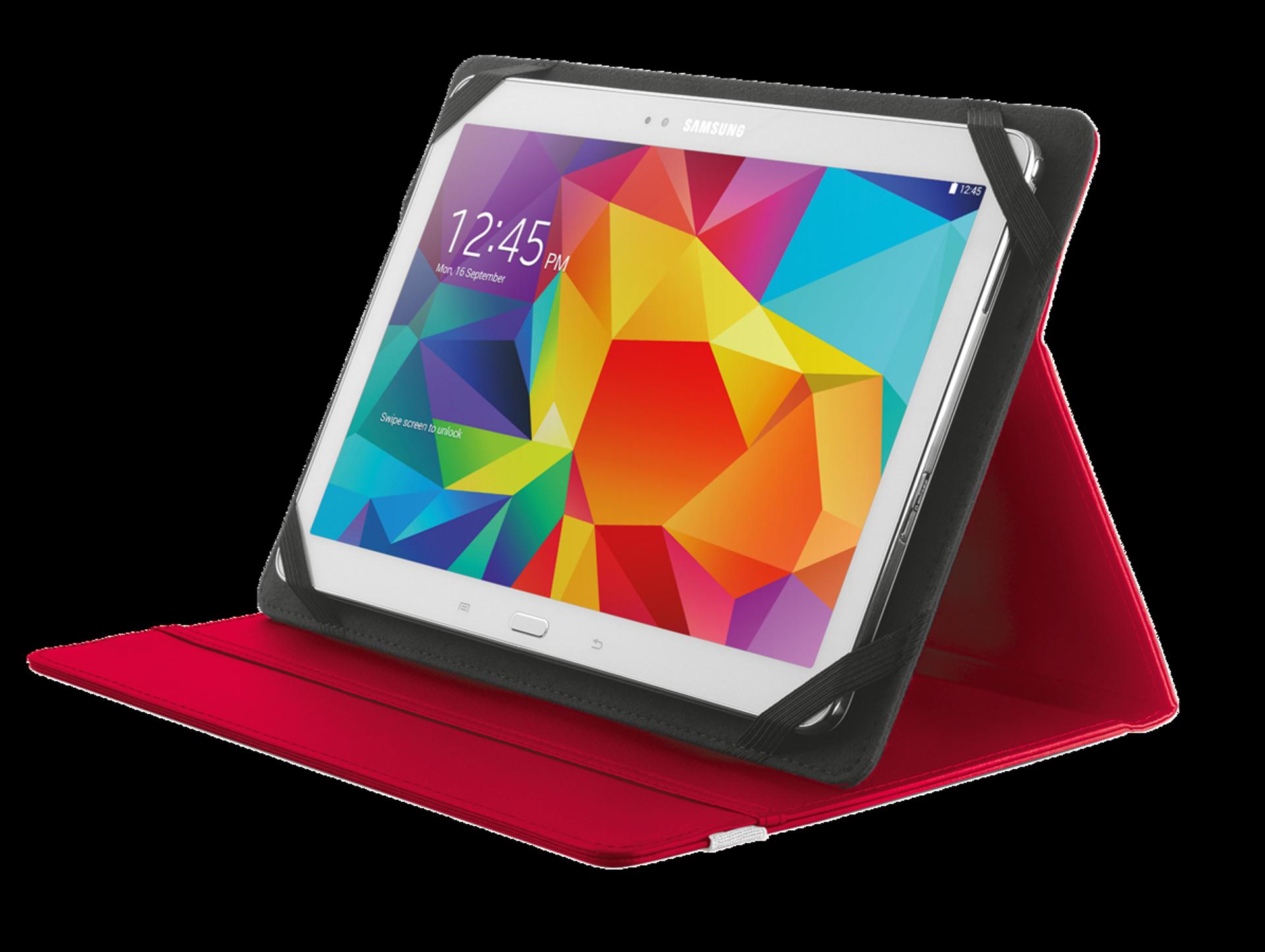 """TRUST Primo Folio pouzdro na tablet 10"""" red"""