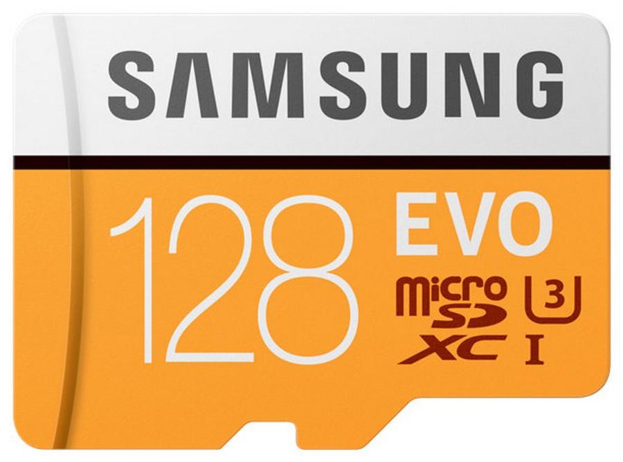 Paměťová karta Samsung EVO 128GB, micro SDHC ( s adaptérem )