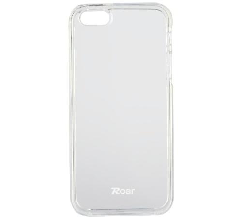 Kryt ochranný Roar pro Apple iPhone 5, SE, transparent