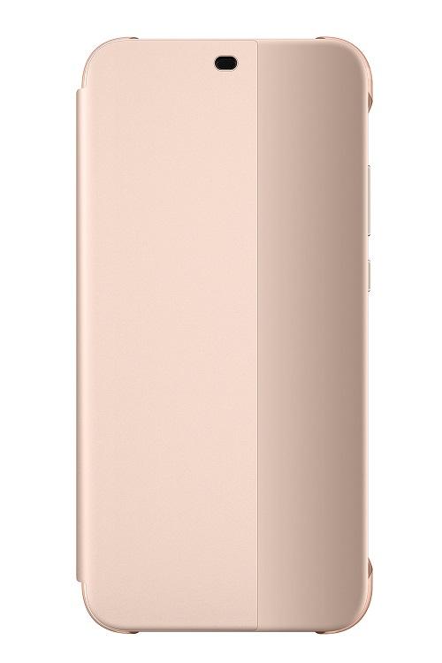 Original flipové pouzdro pro Huawei P20 Lite, pink