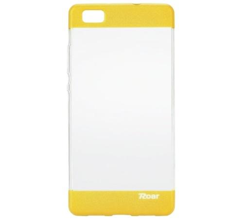 Kryt ochranný Roar Plating pro Huawei P8 Lite, žlutá