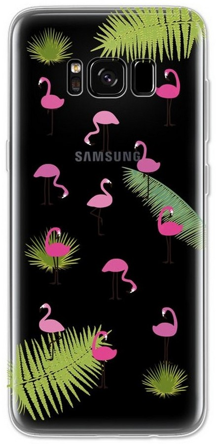 Pouzdro 4-OK Cover 4U SAMSUNG G950 GALAXY S8 flamingo