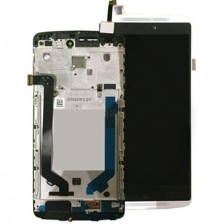 LCD + dotyková deska + rámeček Lenovo A7010, white