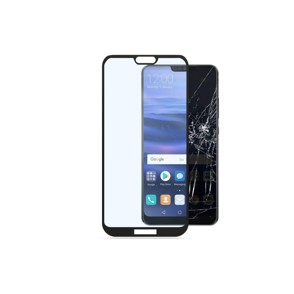 Tvrzené sklo CellularLine CAPSULE pro Huawei P20 Lite, black