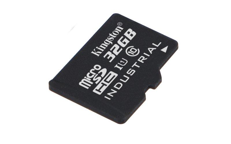 Paměťová karta Kingston 32GB Industriální micro SDHC UHS-I, CL10