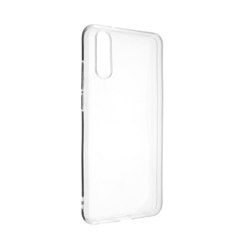 Ultratenké silikonové pouzdro FIXED Skin Huawei P20, čiré