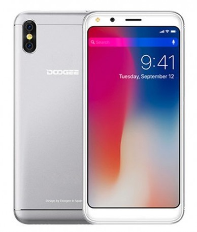 Mobilní telefon Doogee X53 Dual SIM Silver