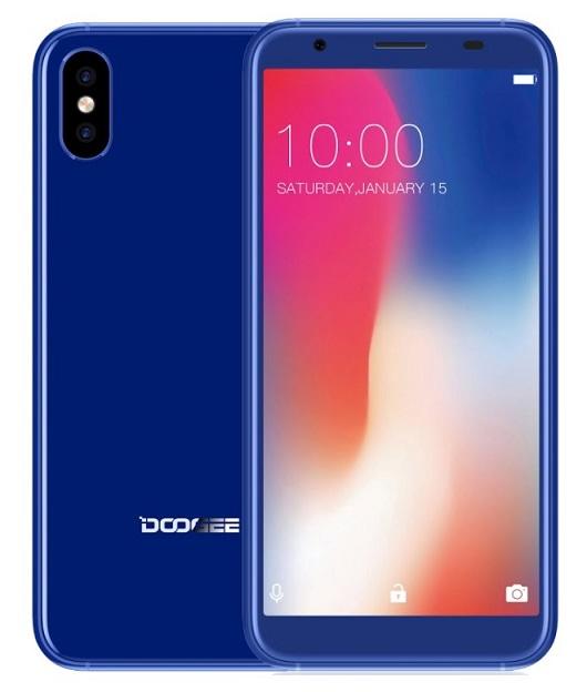 Mobilní telefon Doogee X55 DualSIM Blue