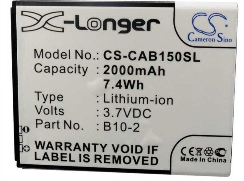 Baterie CS-CAB150SL 2000mAh Li-Pol