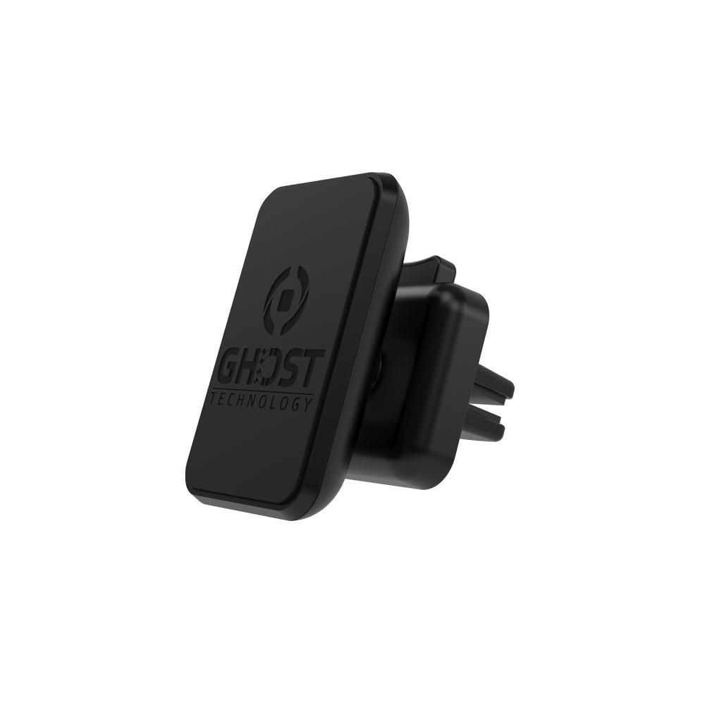 Univerzální magnetický držák do ventilace CELLY GHOSTPLUS pro mobilní telefony, vel. XL, černý
