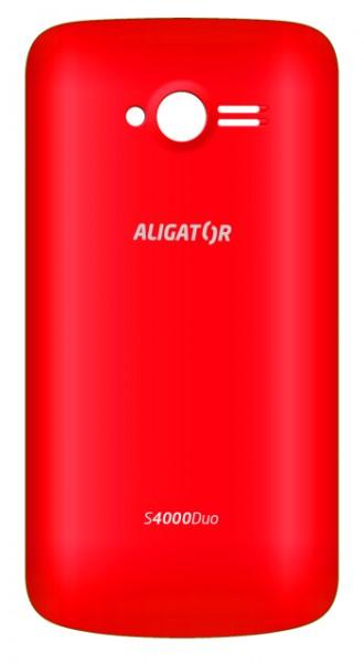 Zadní kryt baterie na Aligátor S4000, red
