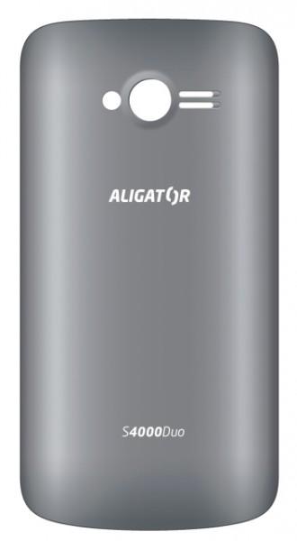 Zadní kryt baterie na Aligator S4000, grey