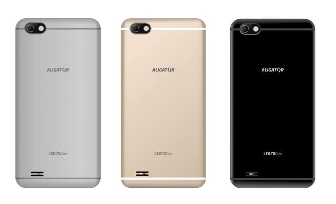 Výkonný telefon Aligator S5070