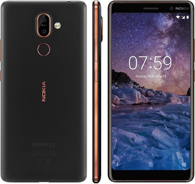 Dotykový telefon Nokia 7 Plus