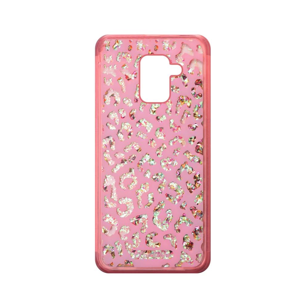 Gelové pouzdro Cellularline Stardust pro Samsung Galaxy A8 2018, motiv Leo