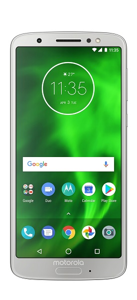 Chytrý telefon Motorola Moto G6