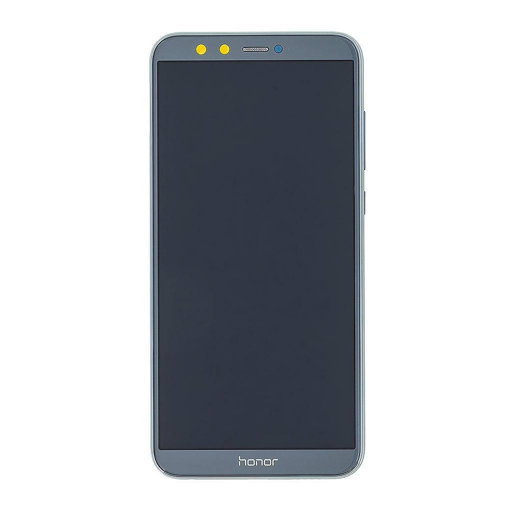 LCD + dotyk + přední kryt pro Honor 9 Lite, gray (Service Pack)