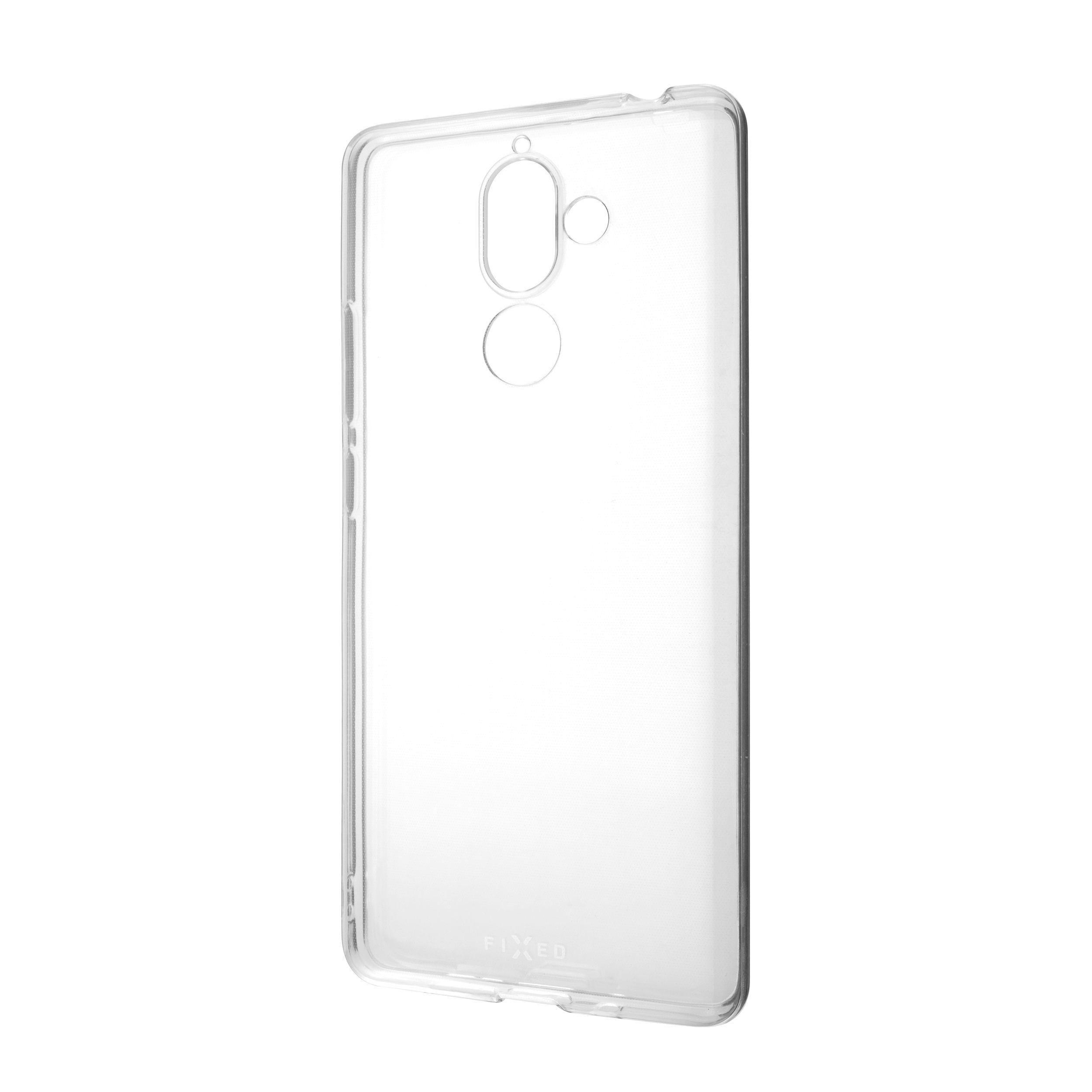 FIXED Skin ultratenké pouzdro pro Nokia 7 Plus, čiré