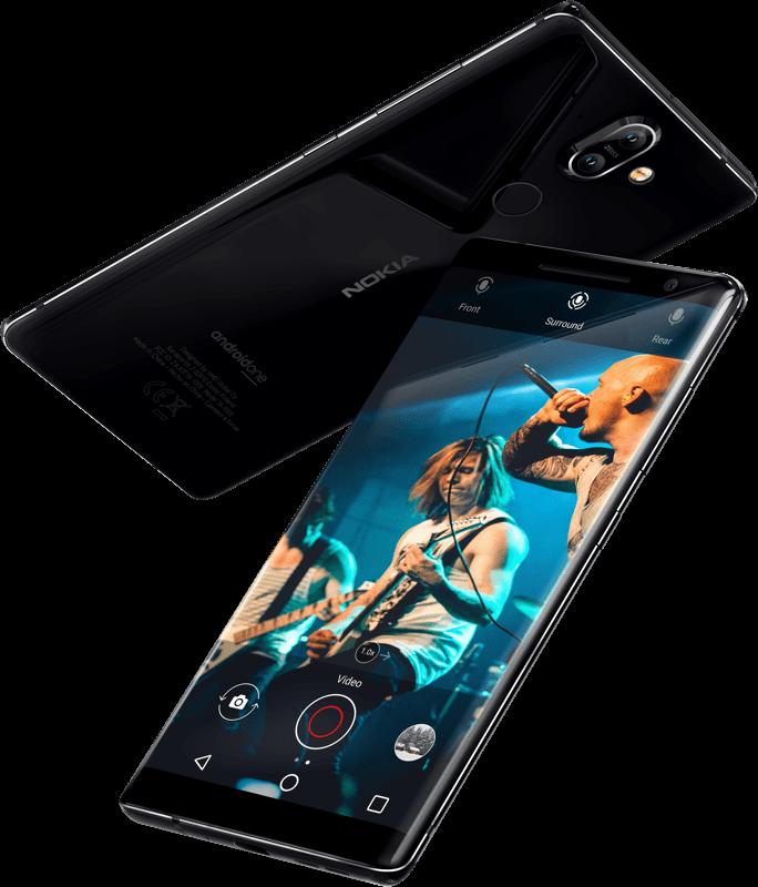 Stylový telefon Nokia 8 Sirroco