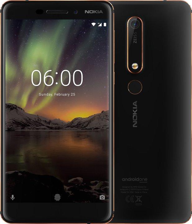 Chytrý telefon Nokia 6.1 DualSIM