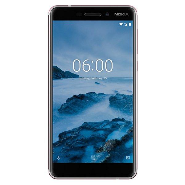 Dotykový telefon Nokia 6.1