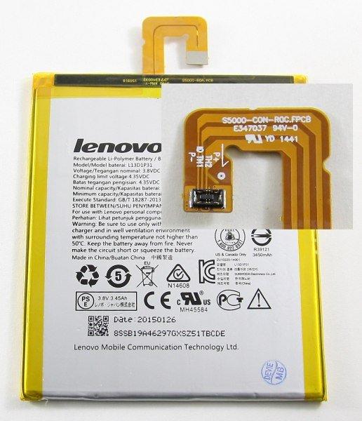 Lenovo L13D1P31 Original Baterie 3550mAh Li-Pol