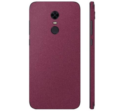 Ochranná fólie 3mk Ferya pro Xiaomi Redmi 5 Plus, vínově červená matná
