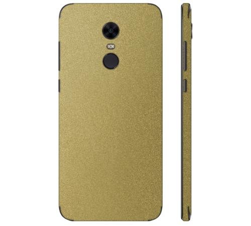 Ochranná fólie 3mk Ferya pro Xiaomi Redmi 5 Plus, zlatá lesklá