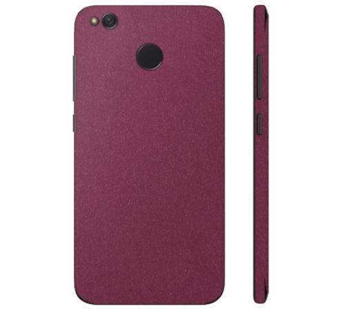 Ochranná fólie 3mk Ferya pro Xiaomi Redmi 4X, vínově červená matná