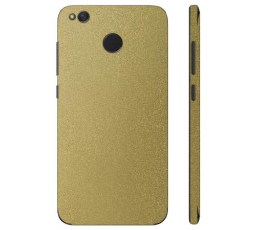 Ochranná fólie 3mk Ferya pro Xiaomi Redmi 4X, zlatá lesklá