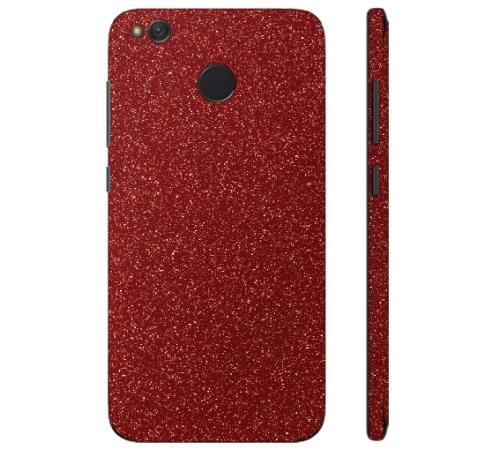 Ochranná fólie 3mk Ferya pro Xiaomi Redmi 4X, červená třpytivá
