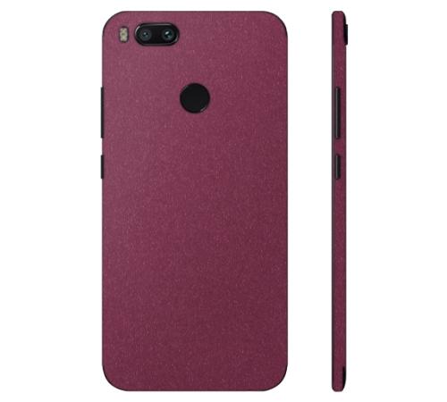 Ochranná fólie 3mk Ferya pro Xiaomi Mi A1, vínově červená matná