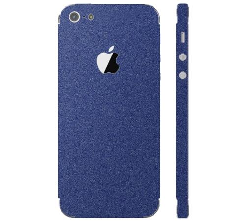 Ochranná fólie 3mk Ferya pro Apple iPhone 5, půlnoční modrá matná