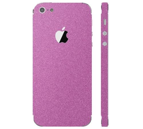 Ochranná fólie 3mk Ferya pro Apple iPhone 5, růžová matná