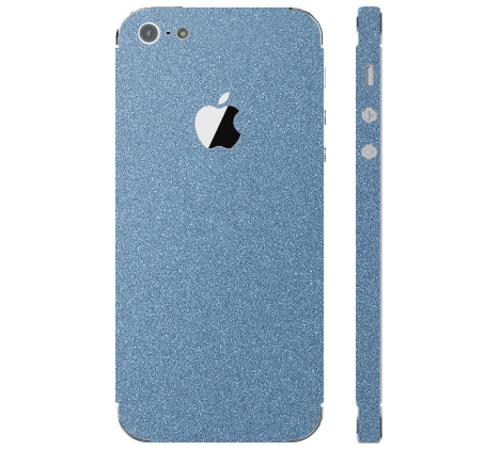Ochranná fólie 3mk Ferya pro Apple iPhone 5, ledově modrá matná