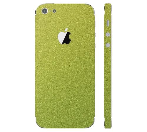 Ochranná fólie 3mk Ferya pro Apple iPhone 5, zlatý chameleon