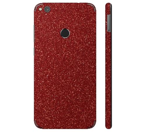 Ochranná fólie 3mk Ferya pro Huawei P8 Lite, červená třpytivá