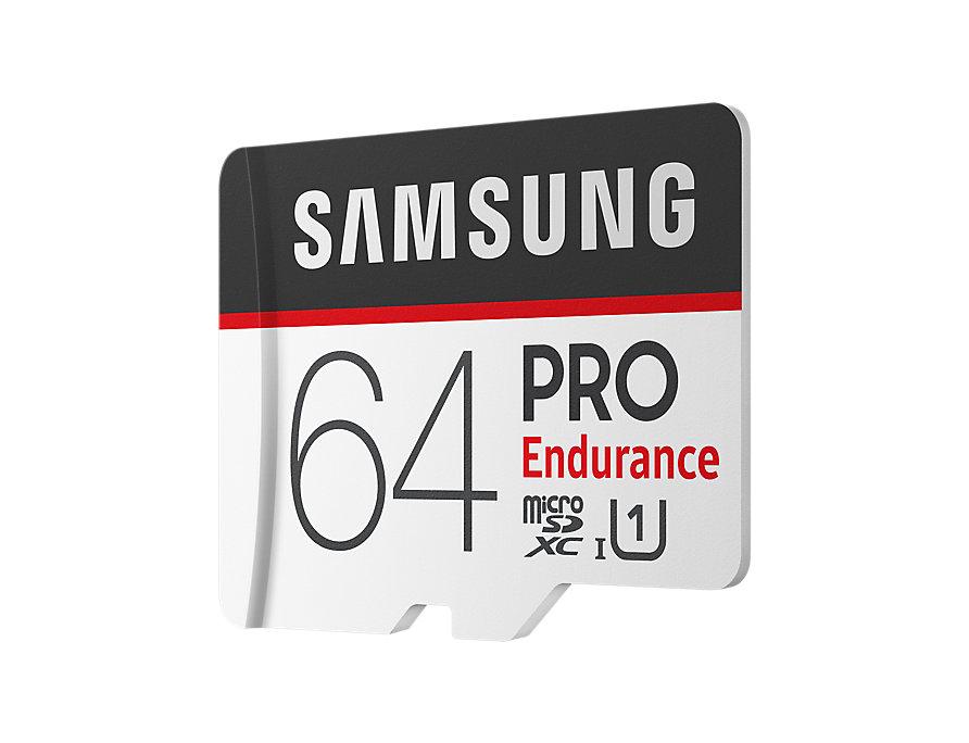Paměťová karta Samsung PRO 64GB microSDXC Class 10 + adapter