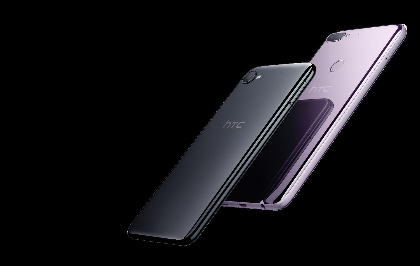 Stylový telefon HTC Desire 12+