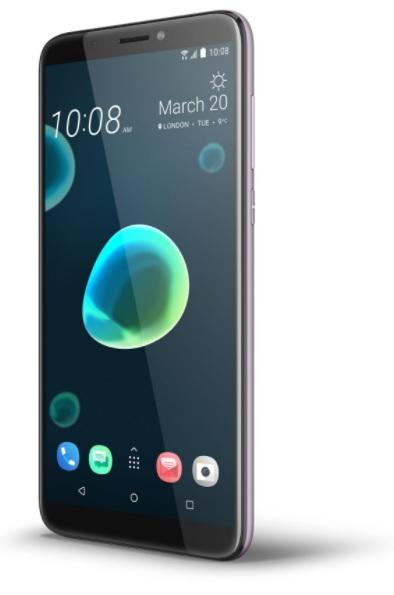 Dotykový telefon HTC Desire 12+
