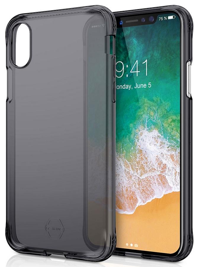 ITSKINS Zero Gel 1m Drop pro iPhone X, Black