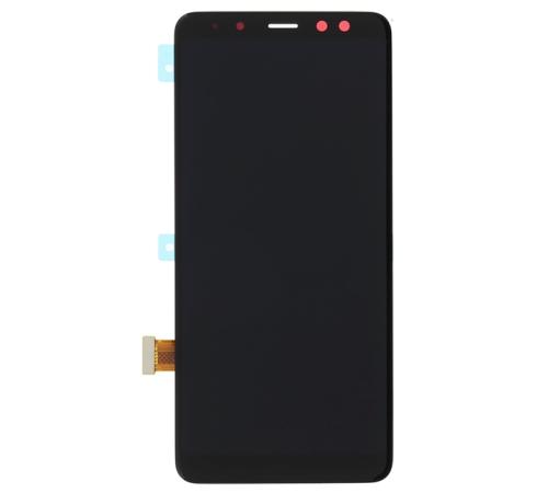 LCD Display + Dotyková Deska pro Samsung Galaxy A8 2018 černá
