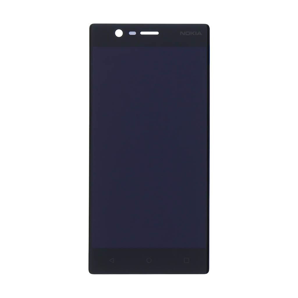 LCD display + dotyková plocha pro Nokia 3 černá