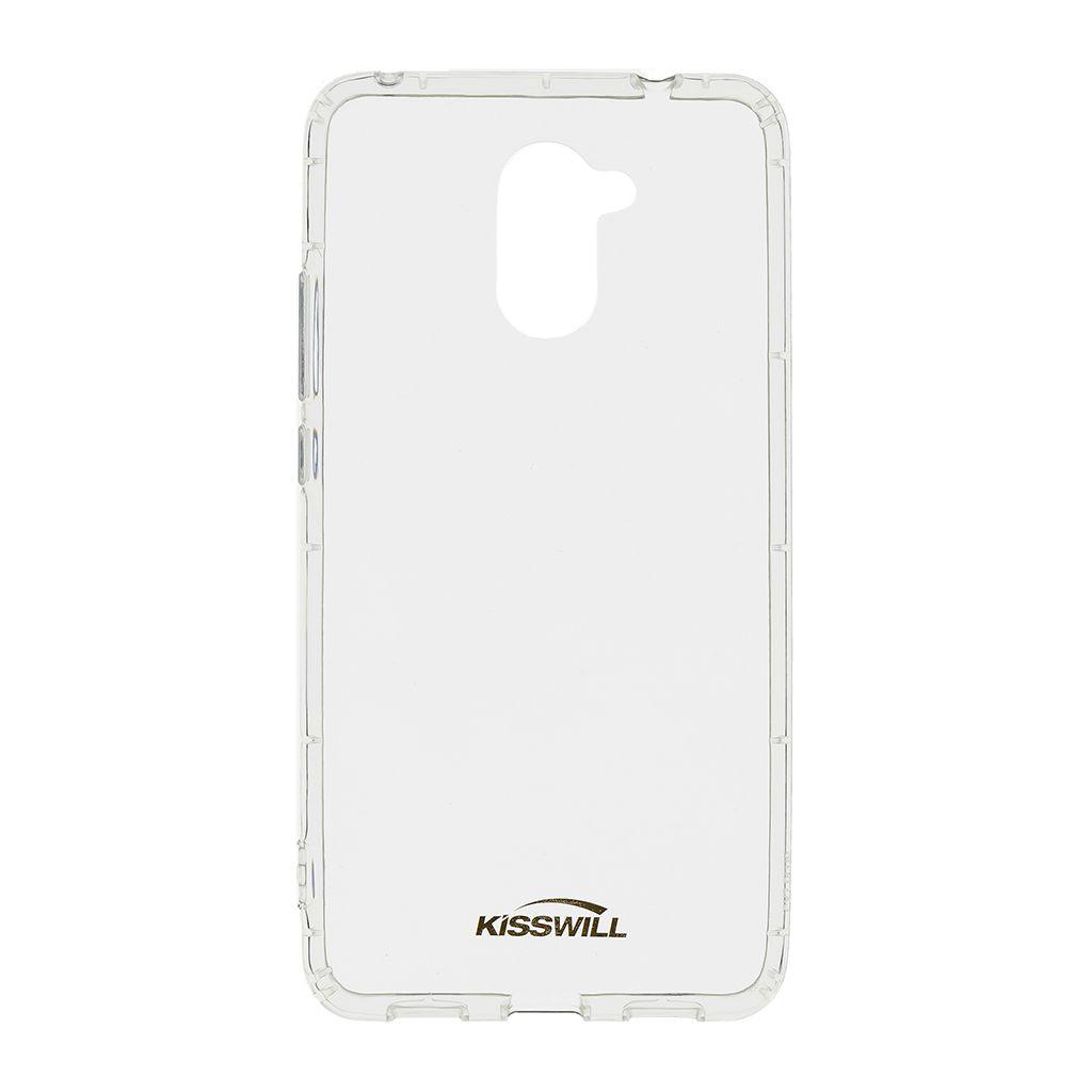 Kisswill Air Around silikonové pouzdro pro Samsung A600 Galaxy A6 2018, transparentní